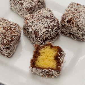 the well-known Australian cake, the Lamington, probably unknown to Buchan