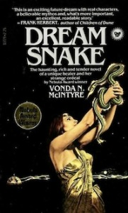 a bit of Cleopatra drama here, but Snake wears clothes in the novel, not sheets