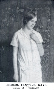 Phoebe Fenwick Gaye sometime in the 1920s, reused with thanks to The Library Time Machine