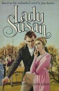glorious awful 1960s faux-Regency novel cover for a Lady Susan continuation