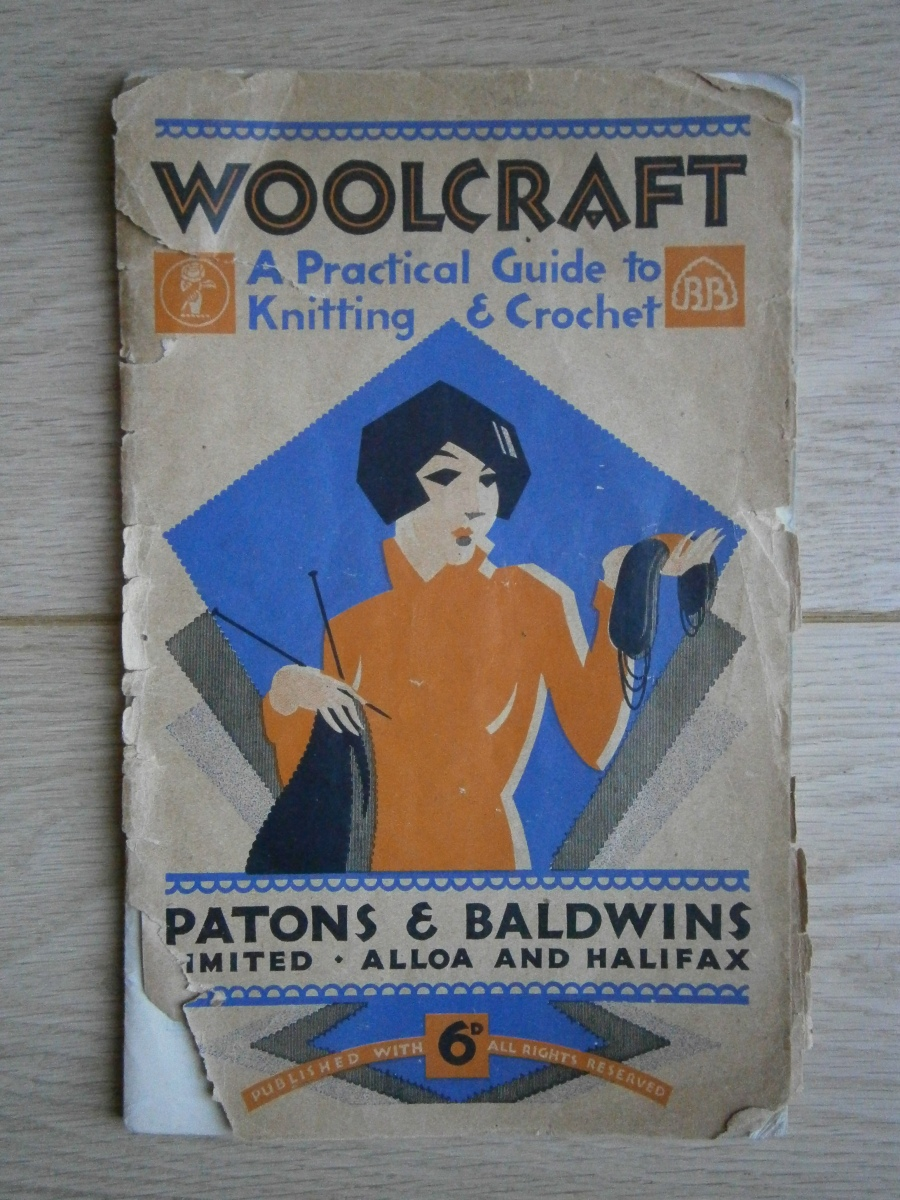 Vintage knitting with Paton's and Baldwins' Woolcraft