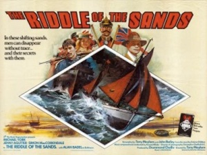 Poster for the 1979 film, starring mixhael York, Simon MacCorkindale and Jenny Agutter
