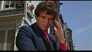 Terence Stamp as Willie Garvin. Yes please.