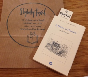 the new Slightly Foxed reprint, a sure sign of safe, pure reading