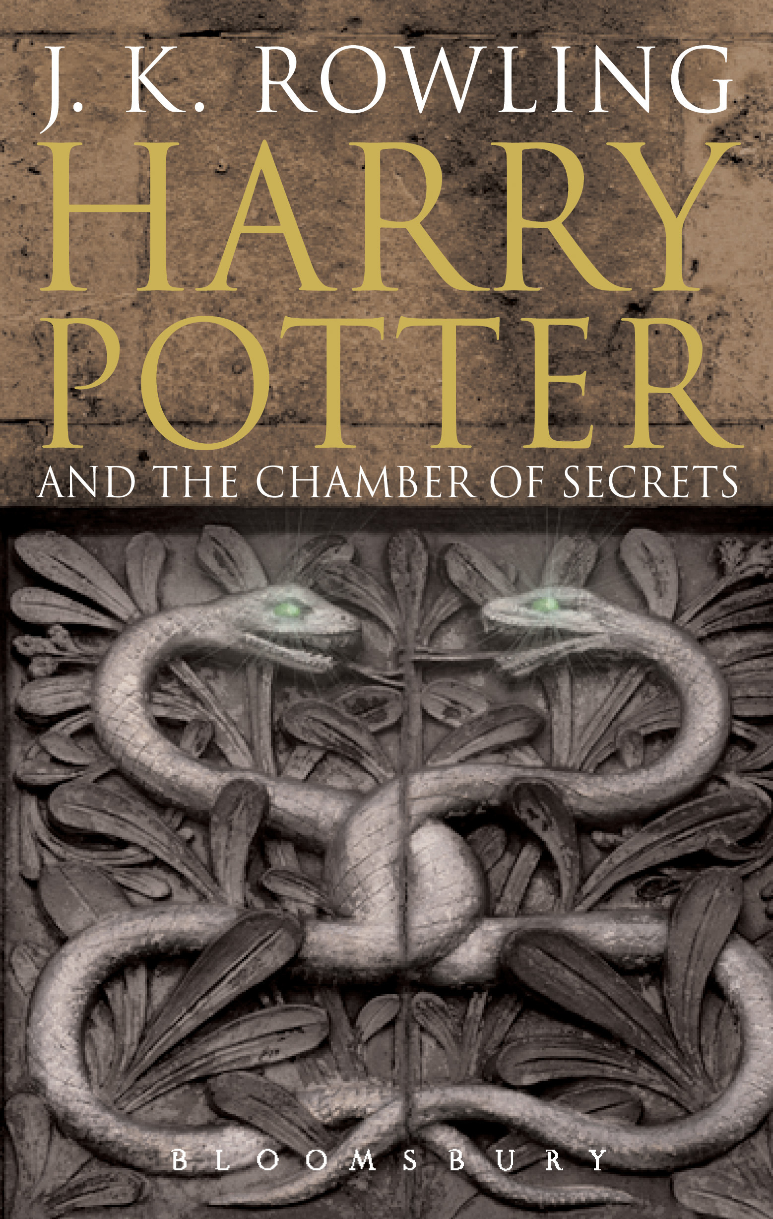 Harry Potter School Book Cover ~ Harry potter and the chamber of secrets u kate macdonald