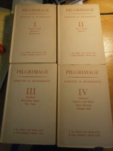 My edition of Pilgrimage, printed before the publication of March Moonlight