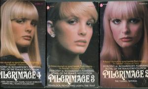 the Popular Library edition of Pilgrimage containing March Moonlight. Those wigs alarm me.