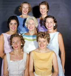 the real Astronaut Wives Club, from 1959