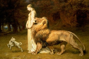 Una and the Lion, from Book 1