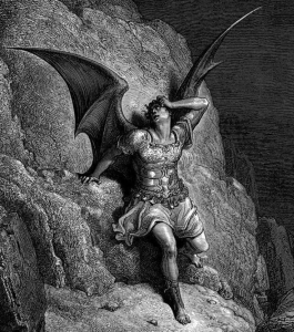 Doré's engraving of Lucifer
