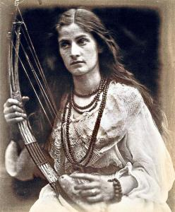 photograph by Julia Margaret Cameron to illustrate The Princess
