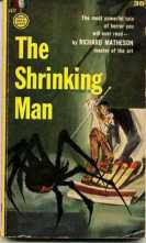 MATHESON 1957 cover of The Shrinking Man